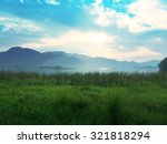 beautiful meadow in shiny day | Shutterstock . vector #321818294