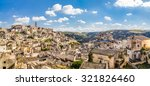 ancient town of matera  sassi... | Shutterstock . vector #321826460