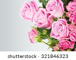 Stock photo rose bouquet 321846323