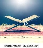 the quran. | Shutterstock . vector #321856604