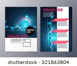 business and technology... | Shutterstock .eps vector #321863804