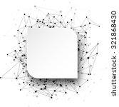 global communication rounded... | Shutterstock .eps vector #321868430