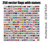flags of the world  vector... | Shutterstock .eps vector #321876524