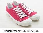 red shoe man | Shutterstock . vector #321877256