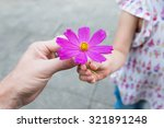 parent and child to hand over... | Shutterstock . vector #321891248