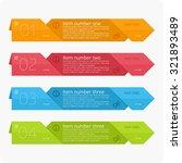 info graphic design template...   Shutterstock .eps vector #321893489