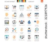 seo internet and development... | Shutterstock .eps vector #321897926