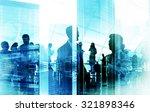 business people meeting... | Shutterstock . vector #321898346