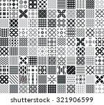 110 seamless geometric patterns ...   Shutterstock .eps vector #321906599