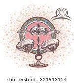 libra. zodiac sign | Shutterstock .eps vector #321913154