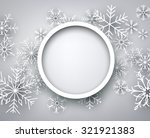 christmas background with... | Shutterstock .eps vector #321921383
