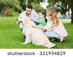 family  pet  domestic animal... | Shutterstock . vector #321934829