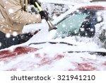 transportation  winter  weather ... | Shutterstock . vector #321941210