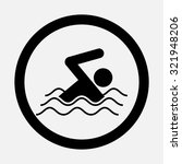 icon swim  swimming  fully... | Shutterstock .eps vector #321948206