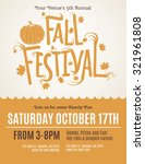 Fun Fall Festival Invitation...