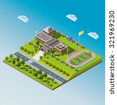 modern isometric school or... | Shutterstock . vector #321969230