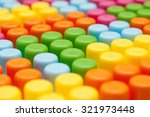 children's cubes as colorful... | Shutterstock . vector #321973448