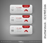 vector business stickers...   Shutterstock .eps vector #321985166