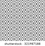 abstract monochrome zigzag and... | Shutterstock .eps vector #321987188