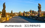 Panorama Of Charles Bridge And...