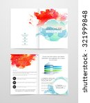 creative two page business... | Shutterstock .eps vector #321999848