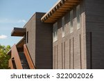 wooden office building under a...