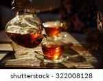 From Transparent Glass Teapot...