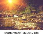 Beautiful Landscape Of Rapids...