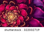 Abstract Fractal  Pink Purple...
