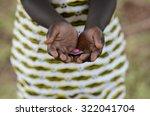 malaria curing symbol african... | Shutterstock . vector #322041704