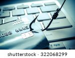 credit card phishing attack | Shutterstock . vector #322068299