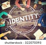 identity branding marketing... | Shutterstock . vector #322070393