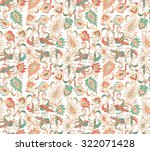 seamless floral pattern | Shutterstock .eps vector #322071428