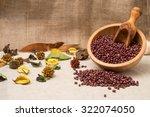 adzuki bean  vigna angularis ... | Shutterstock . vector #322074050