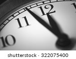 photo alarm clock  arrow close... | Shutterstock . vector #322075400