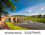 andscape with old brick bridge   Shutterstock . vector #322079693