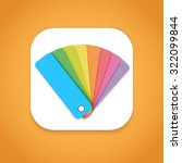illustration of design color... | Shutterstock .eps vector #322099844