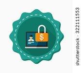 account security icon  vector...