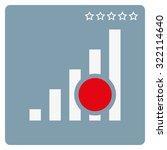 no signal  poor signal strength ... | Shutterstock .eps vector #322114640