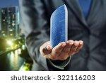 small office building standing... | Shutterstock . vector #322116203