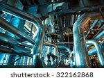industrial zone  steel... | Shutterstock . vector #322162868