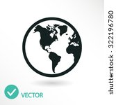 planet icon. one of set web...