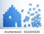 puzzle concept | Shutterstock . vector #322203320