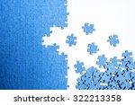 puzzle concept | Shutterstock . vector #322213358
