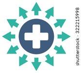 pharmacy distribution vector... | Shutterstock .eps vector #322215998