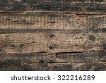 Old Cracked Wood Background...