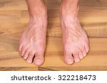 Healthy Pair Of Male Toes...
