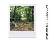 instant photo.  | Shutterstock . vector #322220696