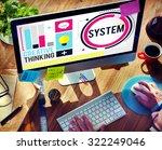 system engine mechanical... | Shutterstock . vector #322249046