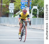 Small photo of RICHMOND VIRGINIA - SEPTEMBER 26: Miryan Nunez (ECU) competes in the elite women's road race at the UCI Road World Championships on September 26, 2015 in Richmond, Virginia